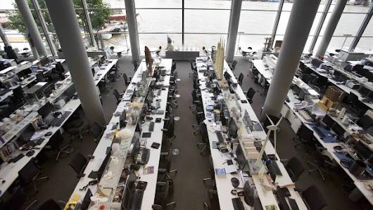 Großraumbüros machen weniger kommunikativ
