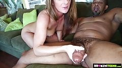 BrokenTeens - Tiny Asshole Vs Huge Black Cock