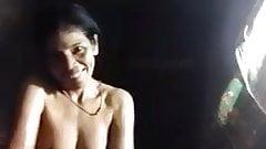 Thai mature shower and masturbate