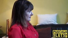 Divorced mature lady Pandora enjoys having submissive sex
