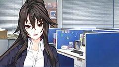 BUKKAKE hentai game part07