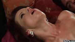 Oily Titjob And Fuck For Hot Babe Cindy