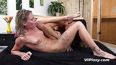 Vipissy - Blondes get piss soaked and orgasm
