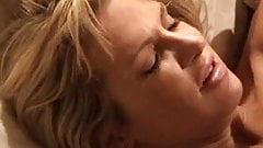 Blonde white wife with black lover - Interracial Cuckold Homemade