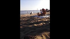 asian nudist exhibitionist on oka's nude beach