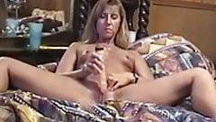 Hot MILF Puts on a Masturbation Show