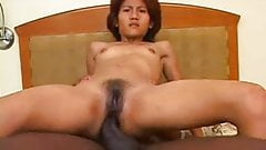 Huge Ebony Fucks Asian Teen With Small Tits