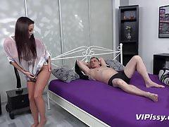 Vipissy - Piss Fuck Buddies - Peeing While Fucking
