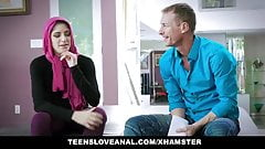 Girl in hijab anal fucked more at jungleofsex com