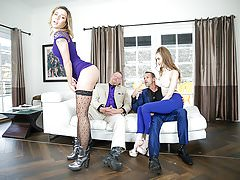 DaughterSwap - Hot Slutty Daughters Get FUcked By Their Fath