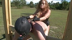 strapon mistress pegging