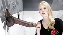 Lily Rader Sucks And Fucks Big Black Dick - Gloryhole