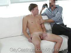 GayCastings Newbie Parker Michaels fucked by casting agent