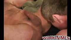 Homosexual smashes butt hard and deep before jizzing on face