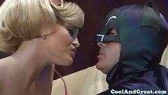 Batman gets sucked off by Alexis Texas