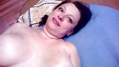 Juicy Russian mom begs son not to take it off during sex