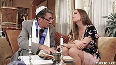 Big Tit Britney Amber Cucks Her Fiance By Fucking a Priest