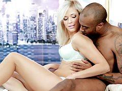 BLACK4K. Black virgin man and lustful lady