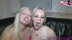 German bukkake no condom gangbang housewife sexparty
