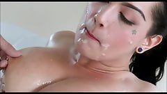 Stallions ejaculates in tight pussies - Compilation