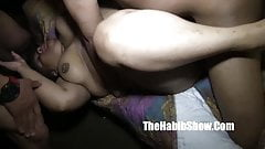 she gettiong fucked hard bbw gangbanged first time freakick