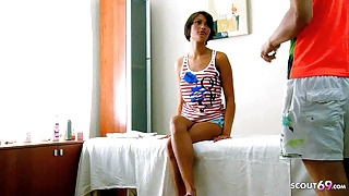 Petite Teen Maddie 18 Seduce to Fuck in Massage Parlour