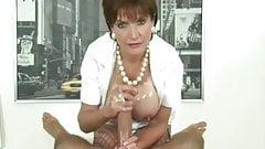 LS, große Brüste mit Sperma, Zusammenstellung