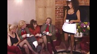 Sarah Young Frenchmaid At Party
