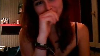 French girl on chatroulette