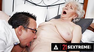Big Dick Stud Takes Granny To Pleasure Town