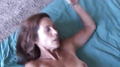 Slim older babe enjoys a hard cock in her tight ass hole