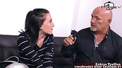 GERMAN COUPLE MAKES PORN - first time with camera, LOU NESBIT