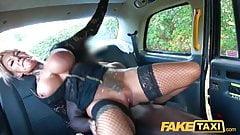 Fake Taxi Sexy busty tattooed Milf stripper wants BBC