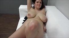 Karolina Casting mit dicken Titten