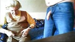 Hermosa oma - anna 74 abuelita antes de follar