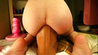 BEST COCK EVER!! He destroys my ass – BIG PROLAPSE