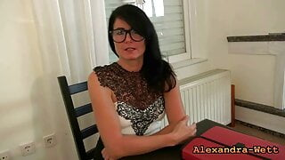 ALEXANDRA WETT – The horny 3-hole teacher