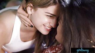 GIRLSWAY – Kristen Scott Masturbates While Fantasizing About Girls