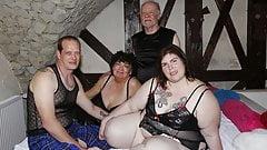 BBW, Swinger-Ehefrau, von 4 Fremden benutzt