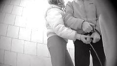 Helping, die Toilette des Mannes öffentlich