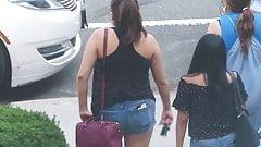 Mexikaner in Shorts, Arsch