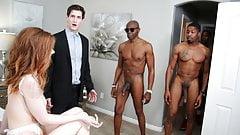 Pepper Hart interracial anal Gangbang - Cuckold-Sessions