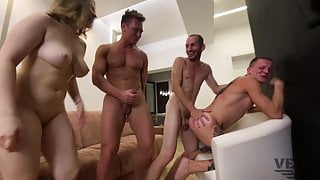 PHOTO SESSION THAT TURNED INTO A BISEXUAL ORGY POV VERSION 3