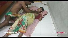 Desi indisches Dorf Telugu, Paar, Romantik, ficken auf dem Boden