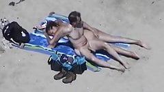 Handjob am Strand
