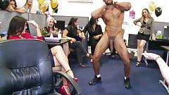 Büro-Sex-Party