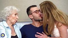 Tabu, heißer Sex mit Müttern und Omas