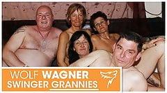 Hässliche reife Swinger veranstalten Fickfest! WolfWagner.com
