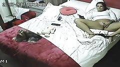 Versteckte Kamera, Masturbation einer Frau 2