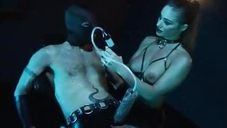 Latex Fetish Mistress & her Slave